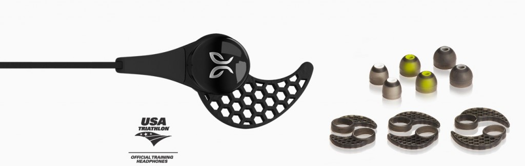 JayBird BlueBuds X - Three Secure Fit Cushions and Ear Buds