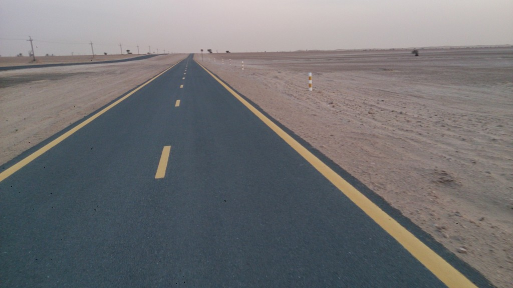 Al Qudra Cycling Track is Really Smooth - The perfect place for riding your Road bikes safely.